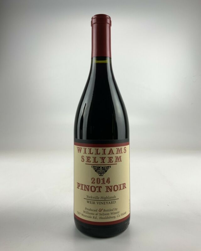2014 Williams Selyem Russian River Valley Pinot Noir WE--94