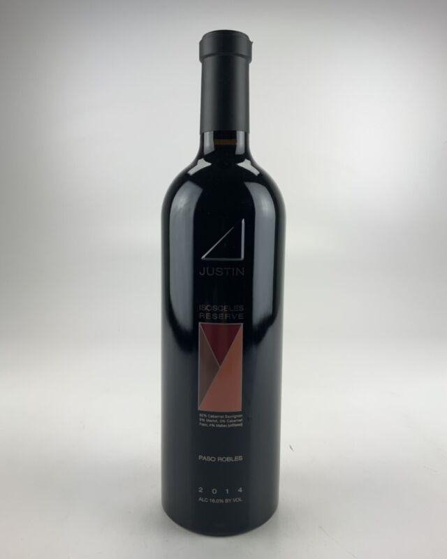 2014 Justin Vineyards & Winery Isosceles Reserve WE--94