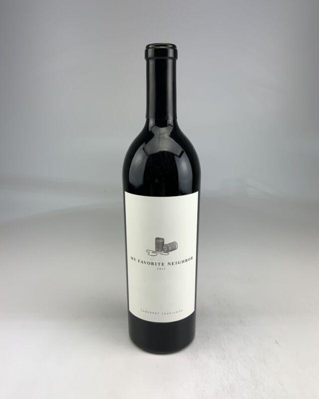 2017 --6 Bottles -- My Favorite Neighbor Cabernet Sauvignon JD--96