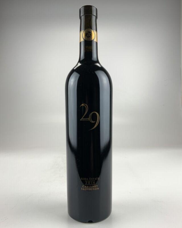 2016 Vineyard 29 Aida Estate Cabernet Sauvignon RP--98
