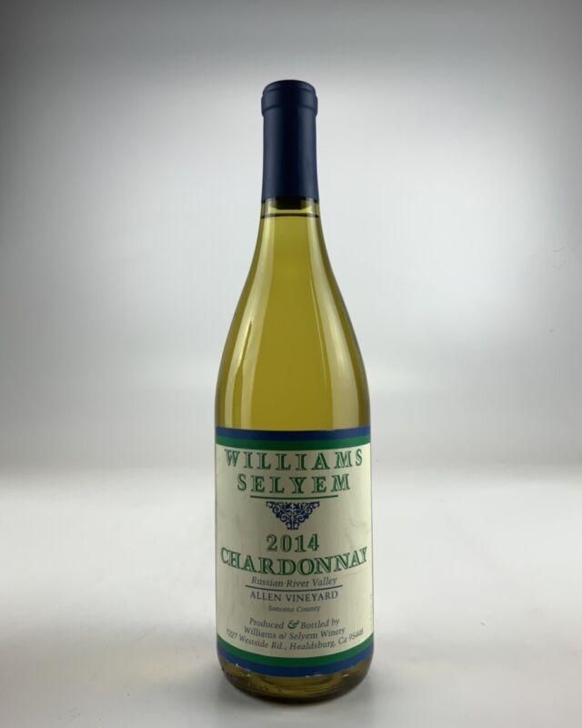 2014 Williams Selyem Allen Vineyard Chardonnay