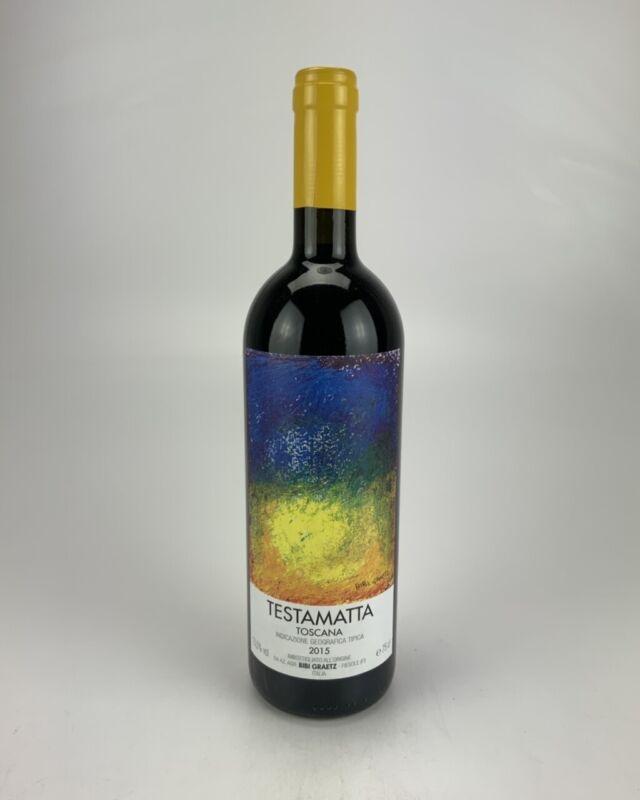 2015 --6 Bottles -- Bibi Graetz Testamatta Toscana JS--99
