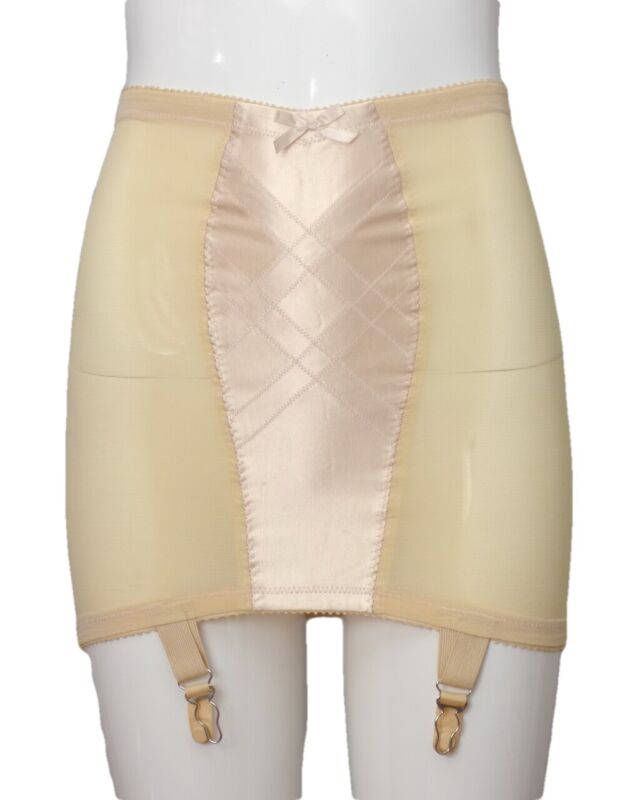 1960s NWT Ivory Girdle With Garters, Size-4