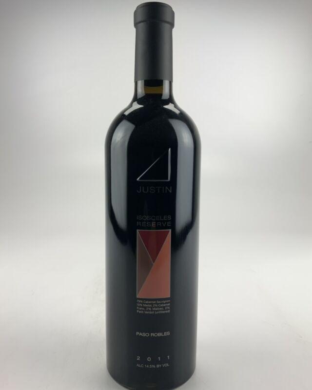 2011 Justin Vineyards & Winery Isosceles Reserve