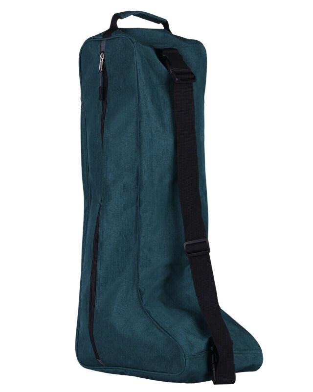 QHP horse riding boot bag - dark green QHP