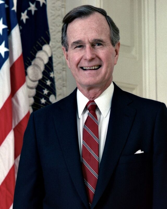 New 8x10 Photo: George Herbert Walker Bush, 41st President of the United States