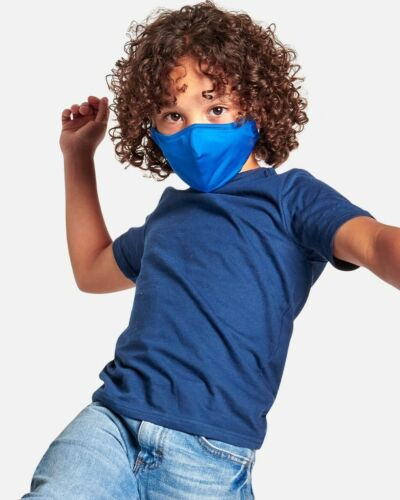 Tommie Copper Face Masks Covering - Kids 2-Pack Moisture Wicking Breathable Flex