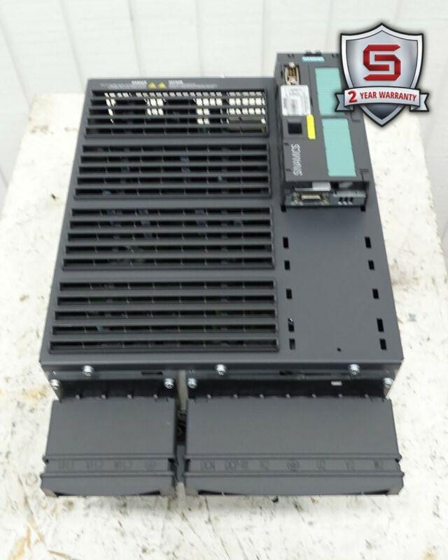 Siemens 6SL3224-0BE33-0UA0 Power Module Ver J w/ 6SL3244-0BB12-1PA1 Control Unit