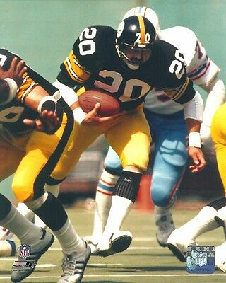 ROCKY BLEIER 8x10 NFL ACTION PHOTO vs Oilers PITTSBURGH STEELERS #20 (Photofile) 8 X 10 Oilers