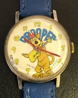 Vintage (1972) DROOPER Banana Splits Wrist Watch - very rare