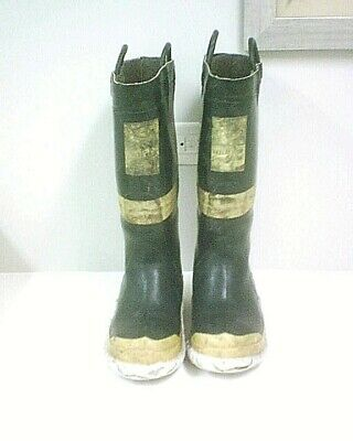 Vintage Servus Fire Fighting Turn Out Boots Size 9 9 12