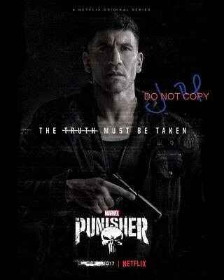 "The Punisher Marvel Comics Jon Bernthal Reprint Signed 8x10"" Photo #2 DC Comics"