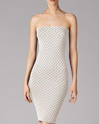 WOLFORD Waves Dress • S • white- dust ... Rundherum nahtloses Kleid / Rock  online kaufen