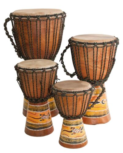 "Djembe Beginner Paint,10"" tall, 5-6"" head"
