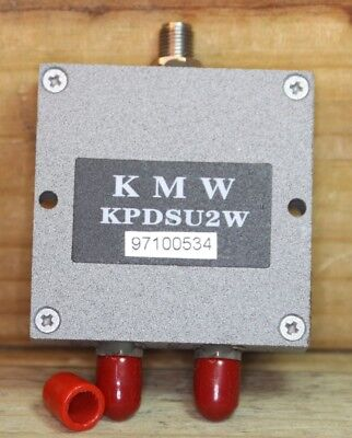 Kmw Kpdsu2w 2 Way Power Divider Sma 1.4 - 2.1 Ghz