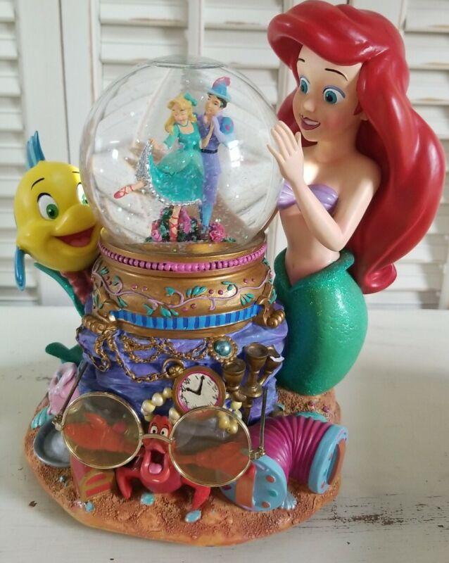 Disney Under The Sea Ariel Little Mermaid Musical Snowglobe