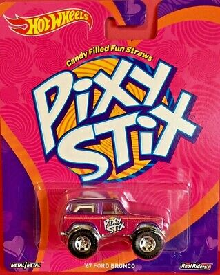 Hot Wheels 2017 Pop Culture PIXY STIX 67 FORD BRONCO DWH16