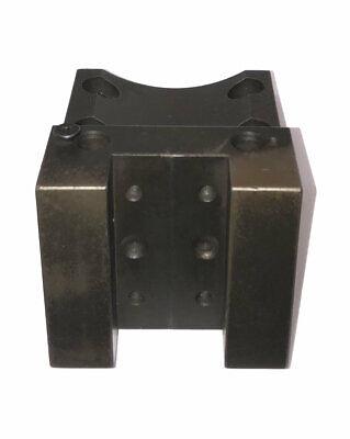 Daewoo Doosan Cnc Od Turret Tool Holder Block 80mm X 45mm Bolt Spacing 40mm Key