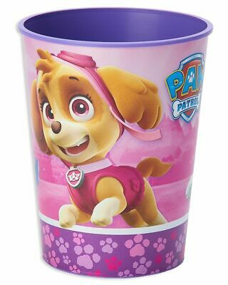 Paw Patrol Pink Plastic 16 Ounce Reusable Keepsake Favor Cup (1 Cup) - Pink Plastic Cups