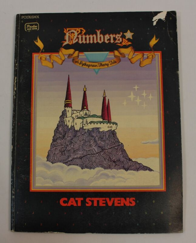 Cat Stevens Numbers Rock Sheet Music Song Book Notes Piano Guitar