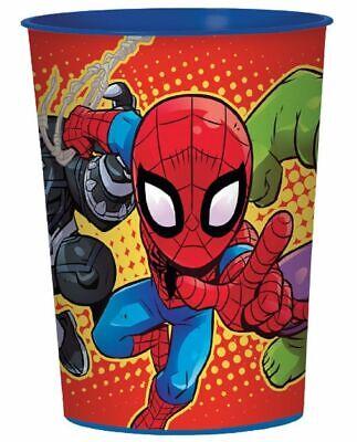 Hero Adventures - 16oz Plastic Cup - 12ct (Super Hero Party Favors)