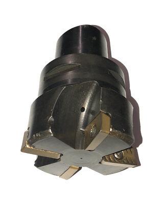 3 Sandvik C6 Capto Ra215-a076c6-25m Indexable Insert Milling Cutter