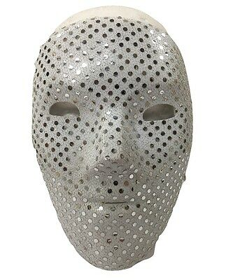 UK Deuce Hollywood Untot Halloween Plastik Maske Album Kostüm geschnürt (Hollywood Kostüme Uk)