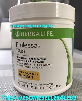 New Herbalife Prolessa Duo 11 2 Oz Weight Management Powder   30 Day Supply