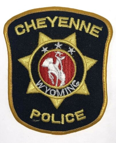 Cheyenne Wyoming Police Patch