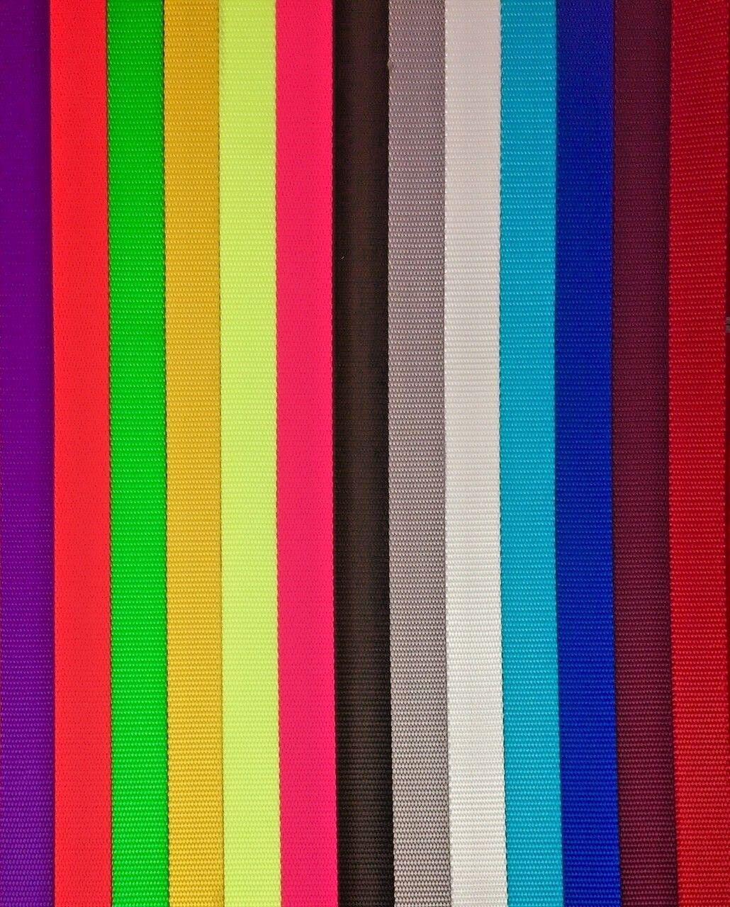 """1 inch Nylon Webbing Medium Weight 1"""" Nylon Strap"""