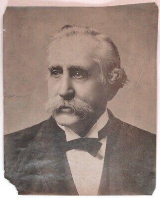ORIGINAL PHOTO CA 1900 GENERAL WILLIAM BATE FOR CONFEDERATE VETERAN MAGAZINE