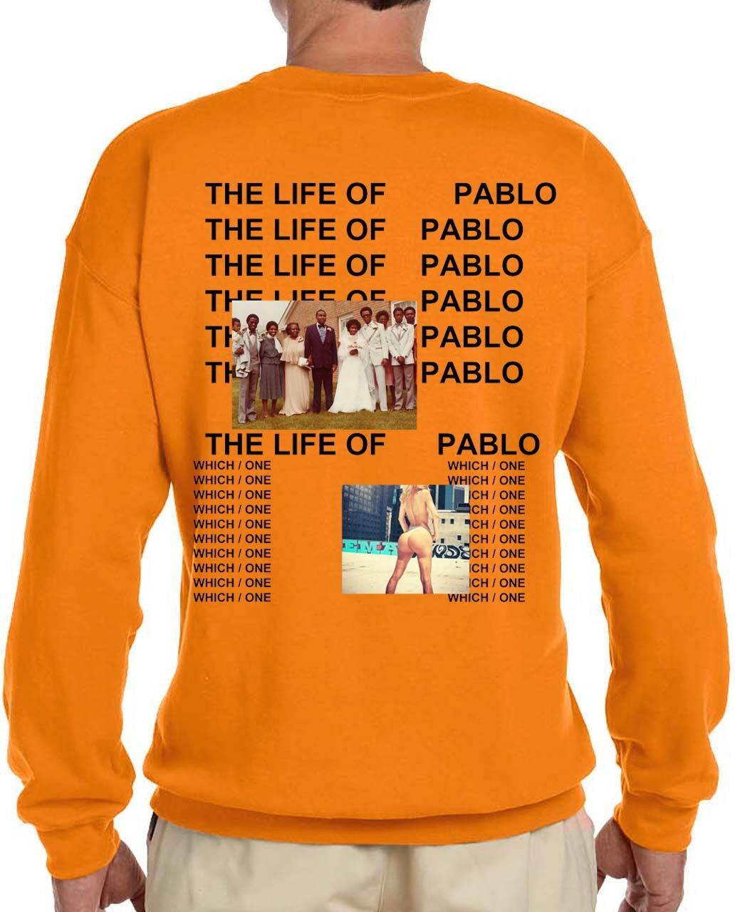 Sale   Kanye West The Life Of Pablo Album New Long Sleeve T-shirt ... 6bcdf7bb875
