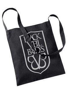Official Black Veil Brides Shield Logo Tote Bag Rock Band Inferno Badge BVB