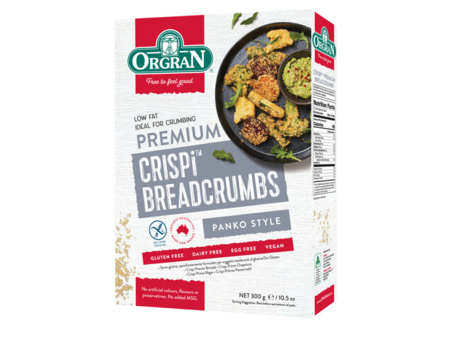 Orgran Crispi Premium Breadcrumbs 300g (Carton of 8)