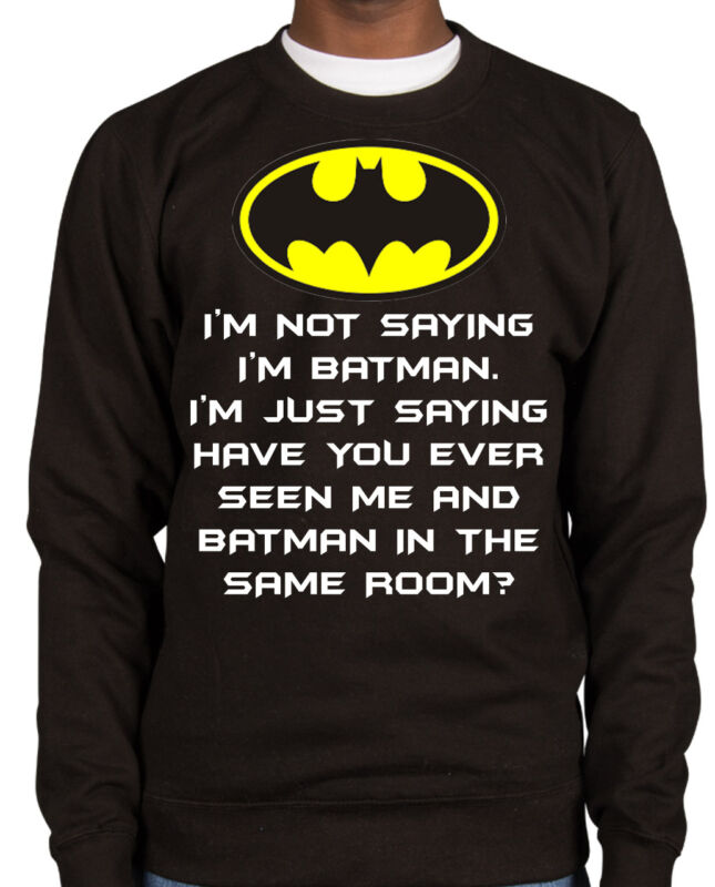 Batman Mens Urban Gotham Sweater