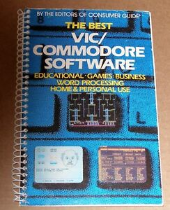 VERY-RARE-Book-on-The-best-of-VIC-Commodore-Software-Including-Classic-Games