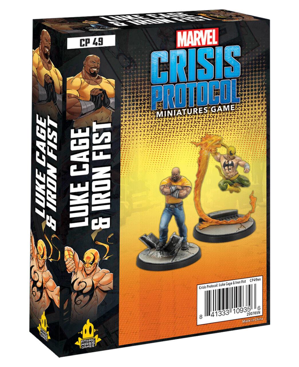 как выглядит Marvel Crisis Protocol Luke Cage Iron Fist - preorder фото