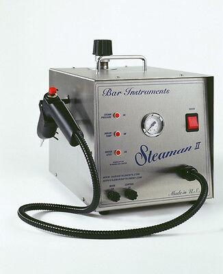 Bar Steaman II Steam Cleaner 1/2 Gallon, Dental  Jewelry Made In USA  NEW