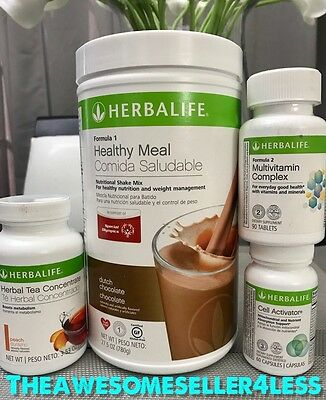 Herbalife  Quickstart Weight Loss Program  All Shakes   Tea Flavors  Available
