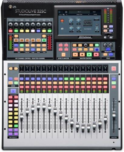 PreSonus StudioLive 32SC Series III 32-Channel Subcompact Di