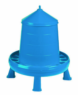Double-tuf Dt9875 17.5 Lb Poultry Feeder With Legs