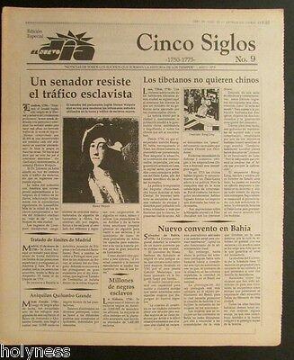 El Nuevo Dia    Vintage Newspaper   Cinco Siglos De Historia   9   Puerto Rico