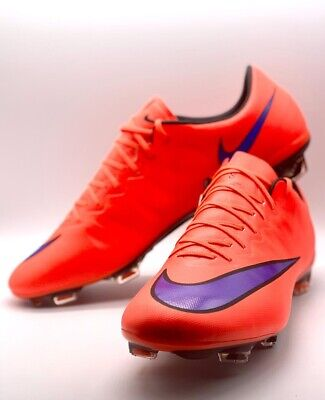 DS Nike Mercurial Vapor X FG Bright Crimson Persian Violet Black RRP:£180
