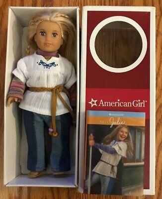 American Girl Mini Julie Doll F7134-AF1B Blonde Hair Brown Eyes - RETIRED
