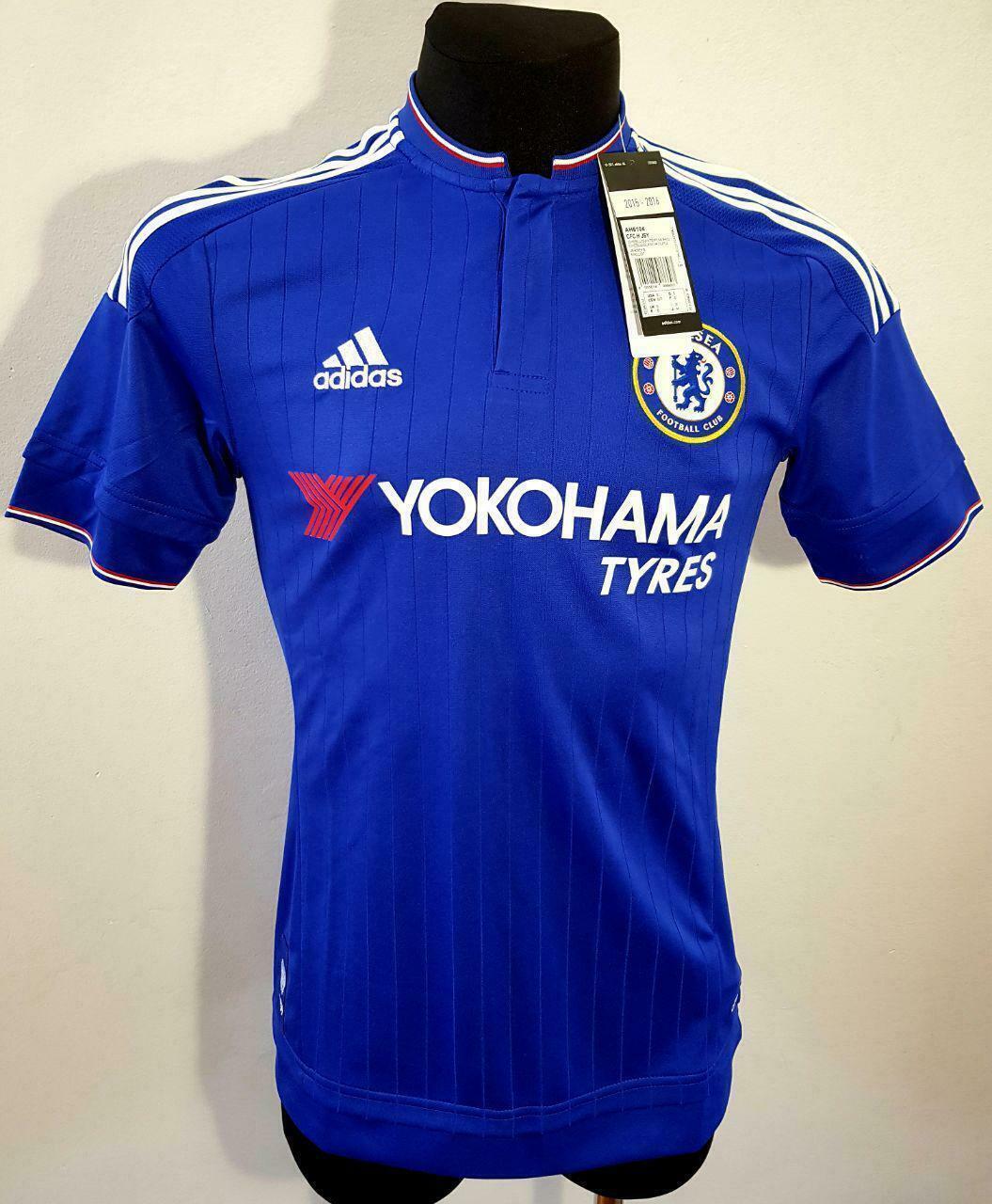 new concept 855f0 8cf50 Chelsea London Home Football Shirt Jersey 2015 - 2016 adidas XXL