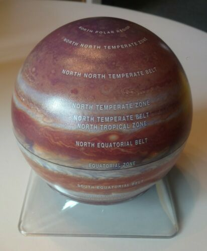"New Jupiter 6 "" Globe with Base"