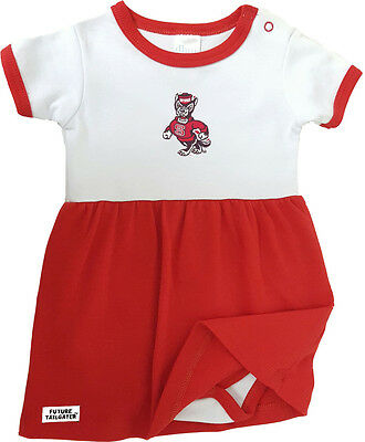 NC State Wolfpack Baby Bodysuit Dress - Nc State Apparel