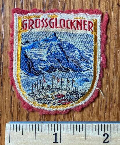 Vintage Ski Patch -- Grossglockner Austria