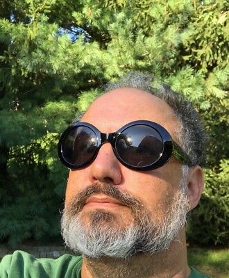 MOD CLOUT BLACK GLASSES Rapper Sunglasses Funny Goggles Kurt Cobain Sixties Go  (Sunglass Forum)