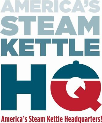 Steam Kettle New Groen Ah1e-80 80 Gal.gas Heated At Wholesale Pricing